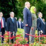 президент Сингапура и Путин встреча