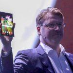 смартфон с гибким дисплеем Samsung