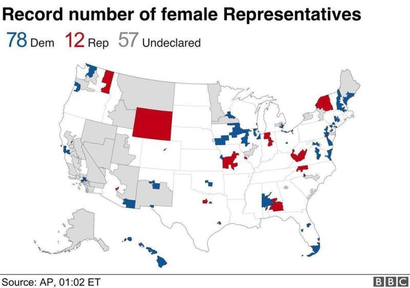 выборы в США в ноябре 2018 в конгресс итоги