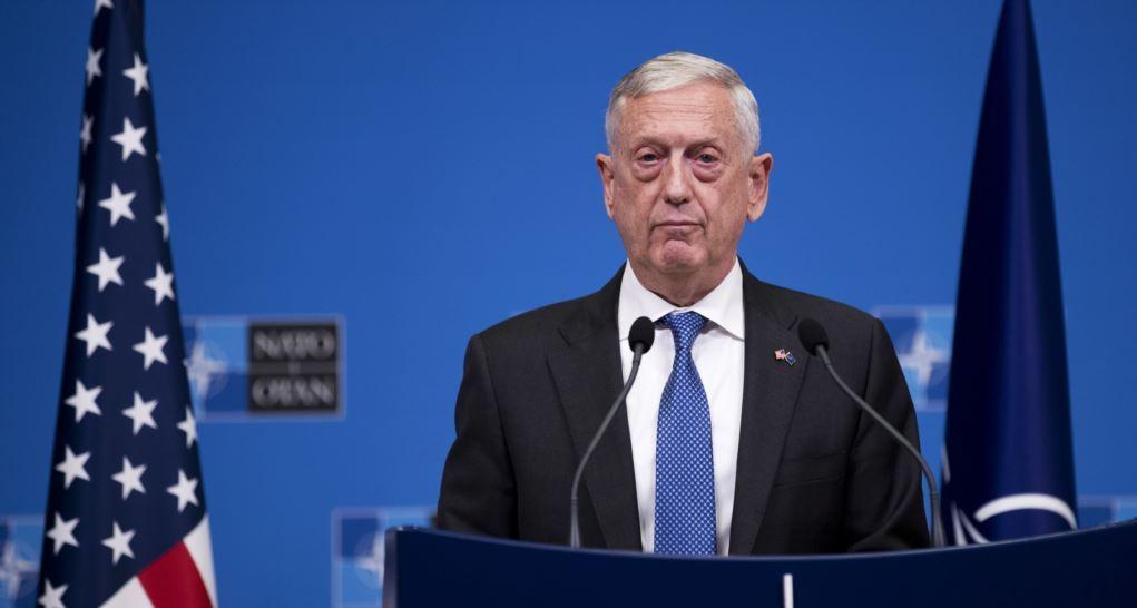 Джеймс Мэттис министр обороны США отставка
