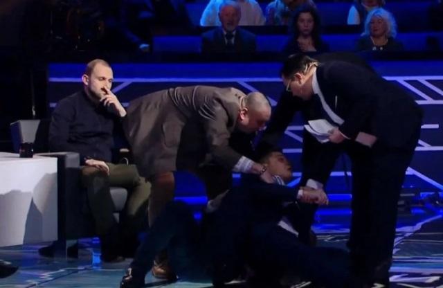 Игорь Мосийчук vs Александр Семченко драка