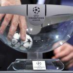 Лига Чемпионов жеребьевка плей-офф одна восьмая финала 2018-2019