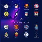 Лига Европы жеребьевка плей-офф одна шестнадцатая финала 2018-2019