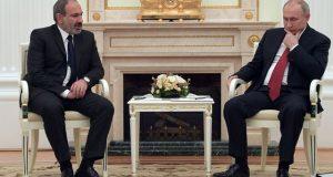 Пашинян и Путин встретились