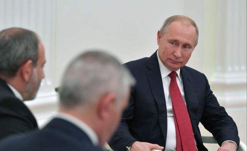 Пашинян Путин встреча