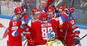 Россия обыграла Швецию на Кубке Первого канала