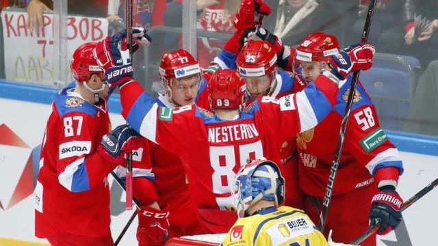 Россия Швеция Кубок Первого канала