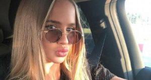 Валерия Соколова устроила аварию