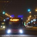 автобусы в новогоднюю ночь в Томске