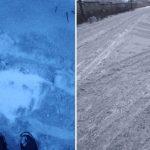 черный снег Иваново