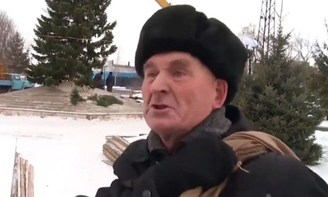 пенсионер из Бийска про елочку Вячеслав Степанович