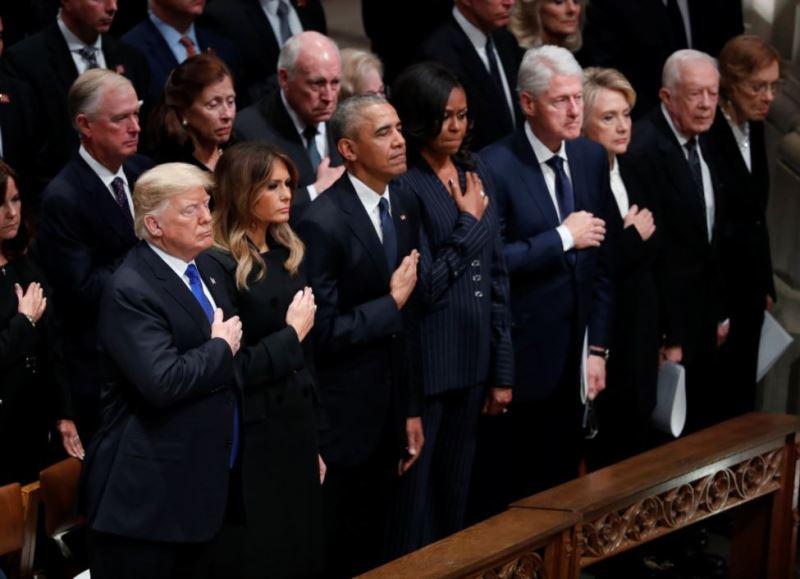 похороны Джорджа Буша-старшего