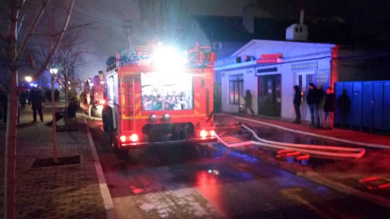 пожар в Анапе на Терской