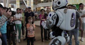 Робот на форуме в Ярославле оказался человеком