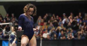 Кэтэлин Охаши гимнастка ошеломила зрителей