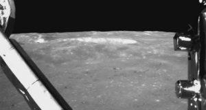 Прогулку китайского лунохода на Луне показали на видео