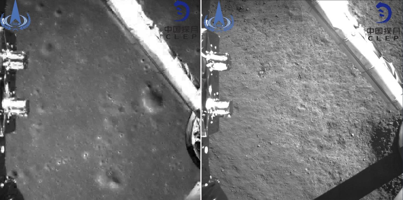 «Чанъэ-4» первые снимки обратной стороны Луны